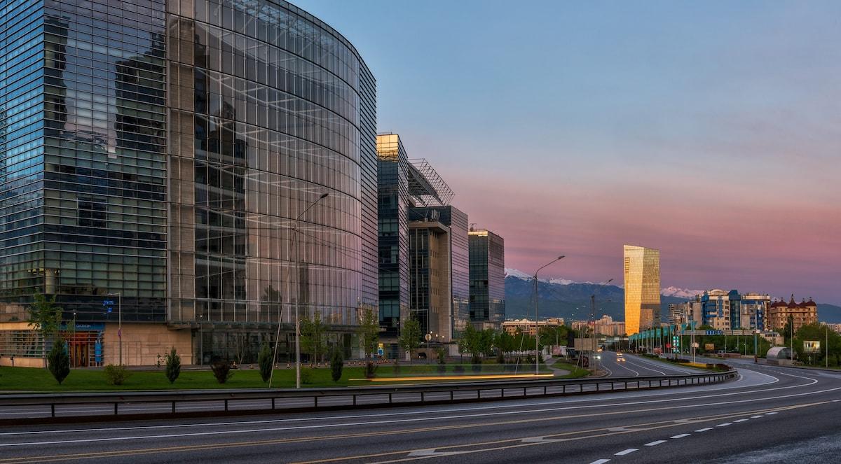 Фото Алматинский финансовый центр
